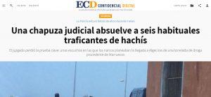 Una chapuza judicial absuelve a seis habituales traficantes de hachís