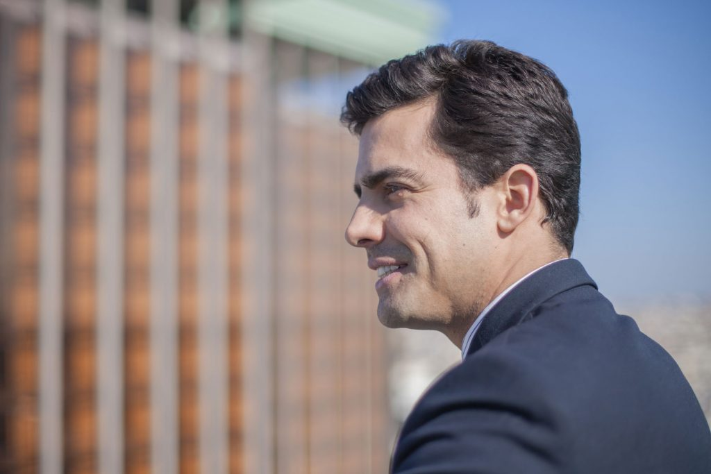 El abogado lider Juango Ospina