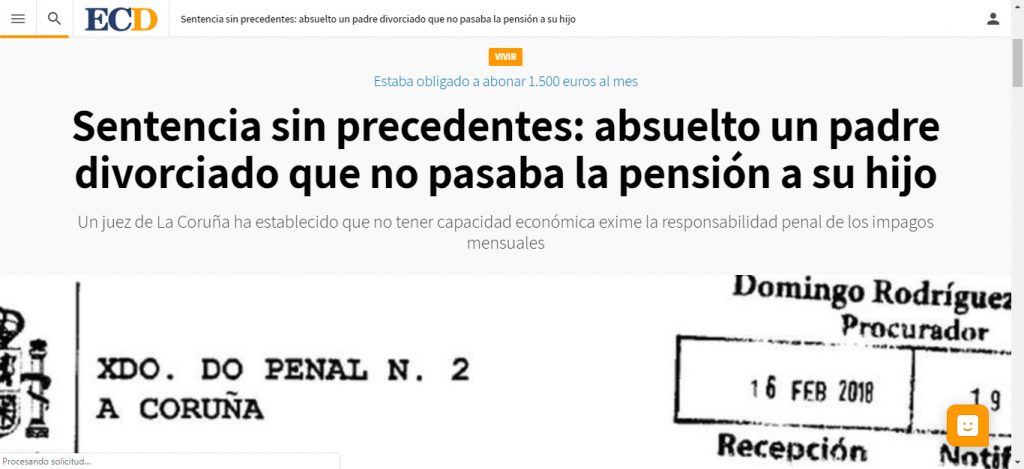 absolucion pension ospina