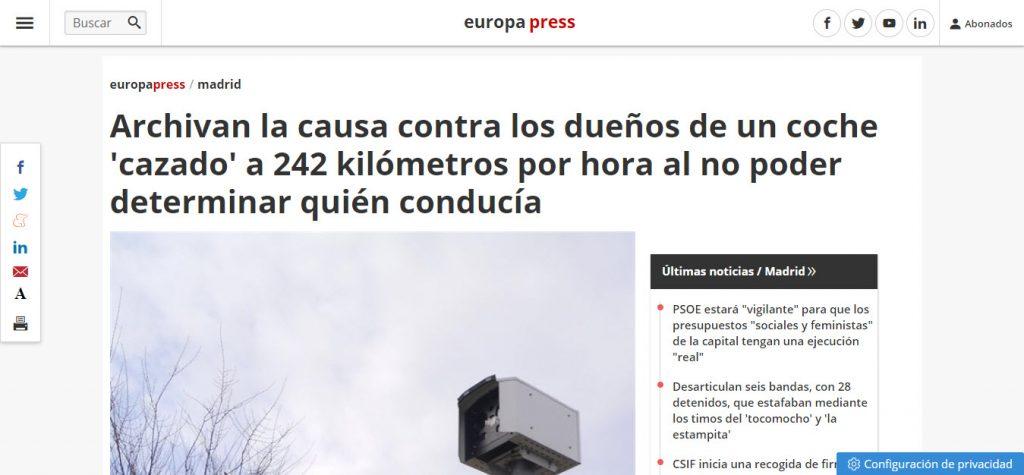 Archivo causa delito trafico Ospina Abogados