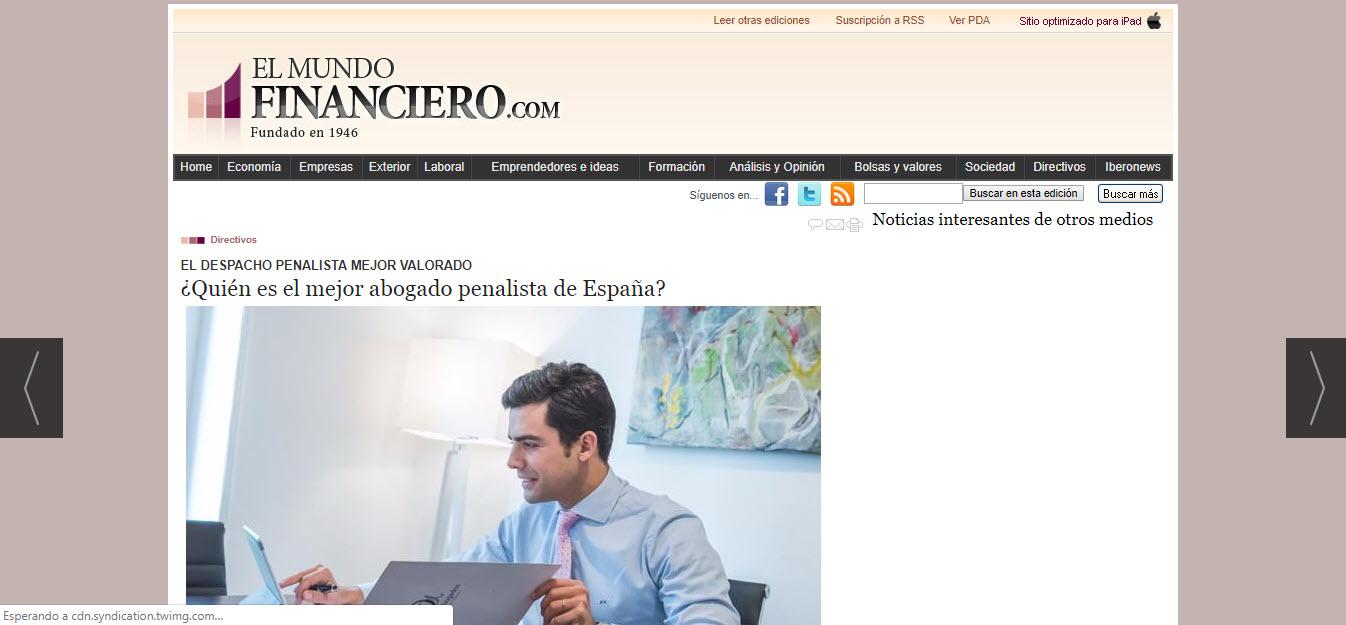 el mejor abogado penalista de España