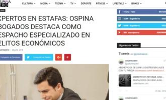 Juan Gonzalo Ospina abogado dedicado al derecho penal y especialista en delitos económicos, como el delito de estafa.