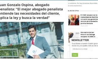 El mejor abogado penalista entiende las necesidades del cliente. Juan Gonzalo Ospina, derecho penal