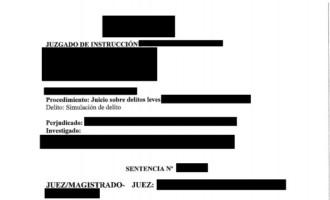 Archivo de un proceso por simulación de delitos en el supuesto robo de un móvil que no ocurrió.