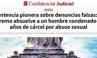 Sentencia pionera en caso de denuncia falsa por abusos
