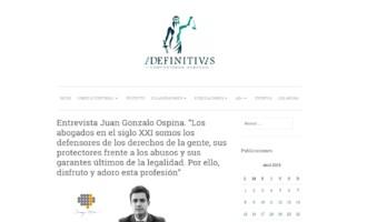 Entrevista a Juan Gonzalo Ospina