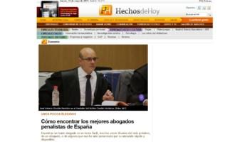 Ospina Abodagos dentro de los mejores despachos especializados en derecho penal de 2018