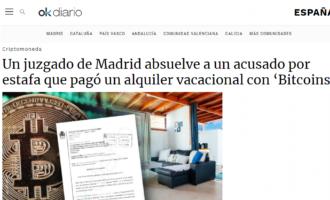 Expertos en delitos económicos en Madrid consiguen la absolución de un delito de estafa online a través del uso de Bitcoins