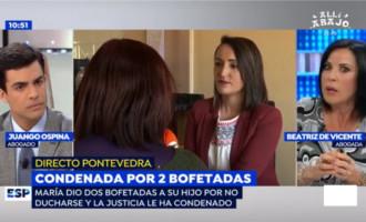 Condenada por violencia doméstica una madre por abofetear a su hijo