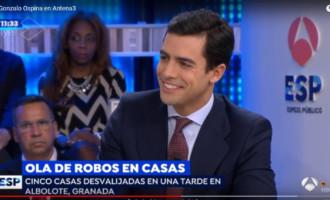 Colaboración de Juango Ospina en Antena 3