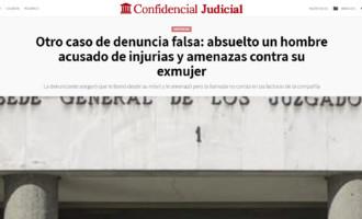Absuelto un hombre acusado de injurias y amenazas contra su exmujer