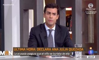 Juan Gonzalo Ospina presente en la mesa de debate en directo