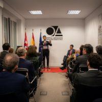 Despacho penalista de Madrid, Ospina Abogados, celebra la inauguración de su nueva sede en el barrio de Salamanca.
