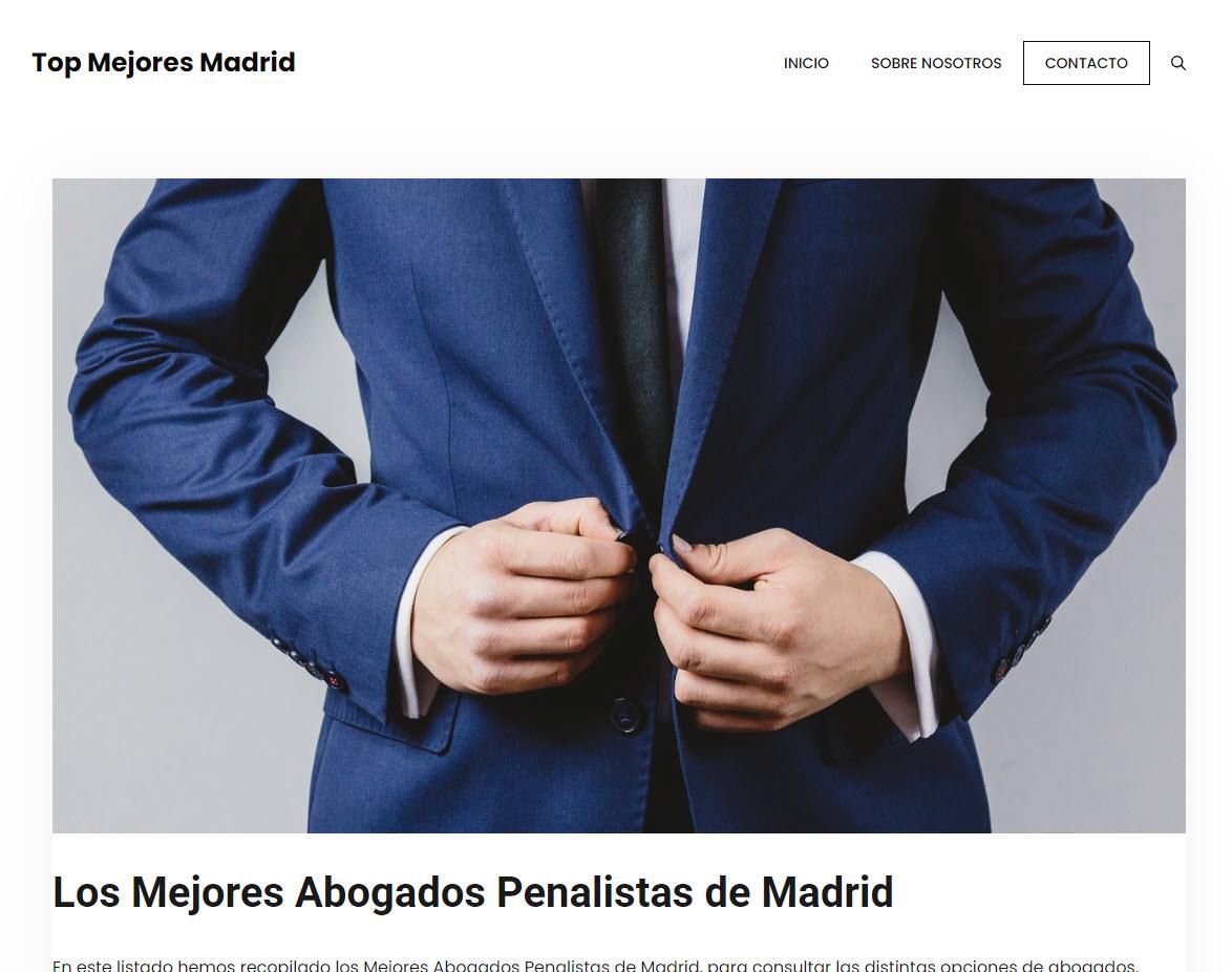 Los Mejores Abogados Penalistas de Madrid