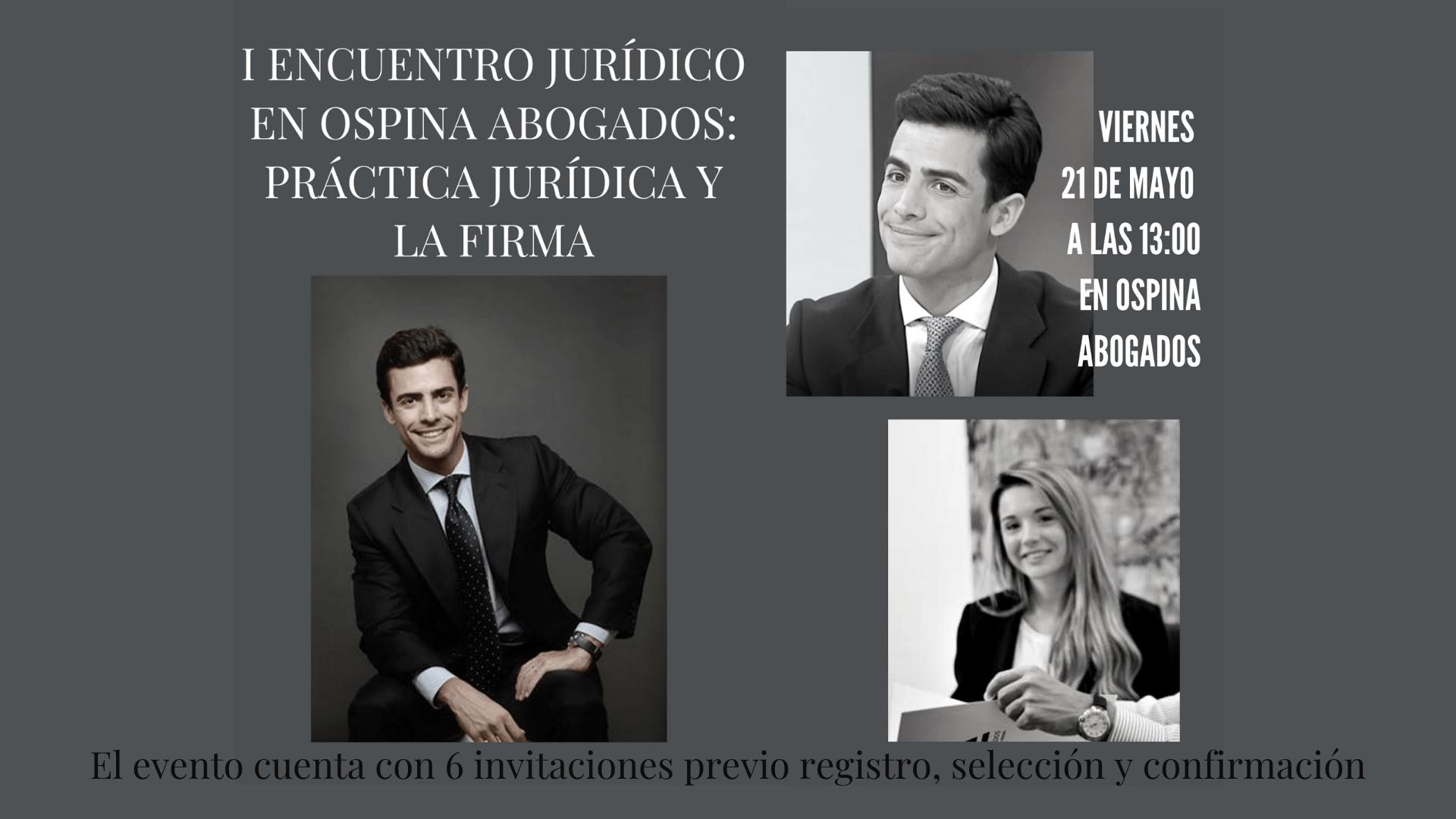 I Encuentro Jurídico en Ospina Abogados
